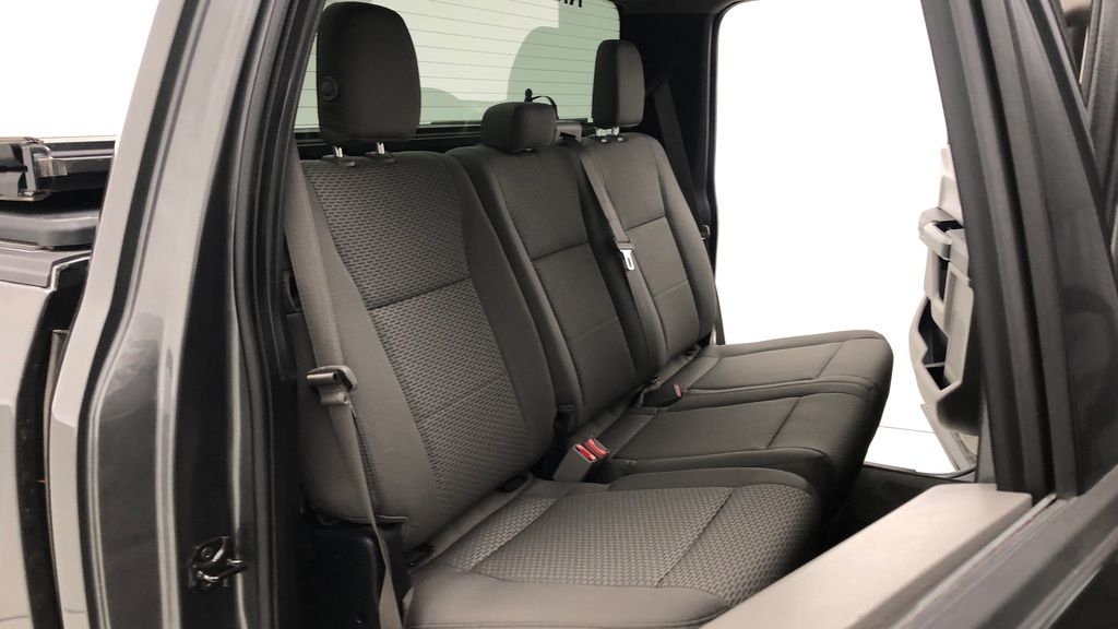 Gray[Magnetic] 2016 Ford F-150 XLT XTR 4WD - SuperCrew, V6, Running Boards Right Side Rear Seat  Photo in Winnipeg MB