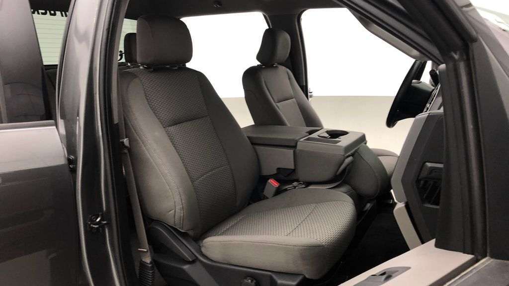 Gray[Magnetic] 2016 Ford F-150 XLT XTR 4WD - SuperCrew, V6, Running Boards Right Side Front Seat  Photo in Winnipeg MB