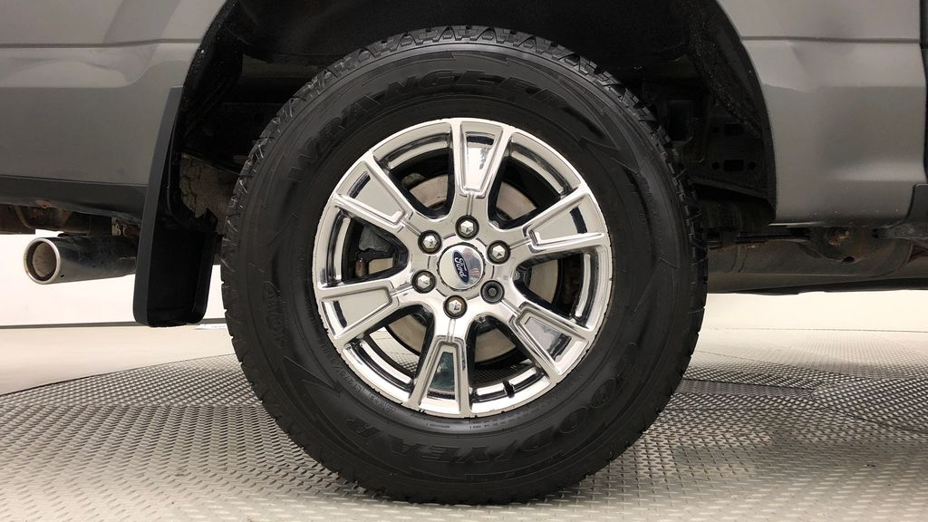 Gray[Magnetic] 2016 Ford F-150 XLT XTR 4WD - SuperCrew, V6, Running Boards Right Rear Rim and Tire Photo in Winnipeg MB