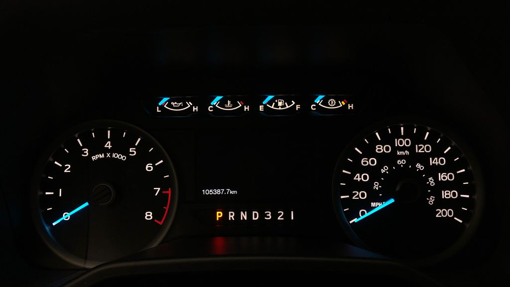 Gray[Magnetic] 2016 Ford F-150 XLT XTR 4WD - SuperCrew, V6, Running Boards Odometer Photo in Winnipeg MB