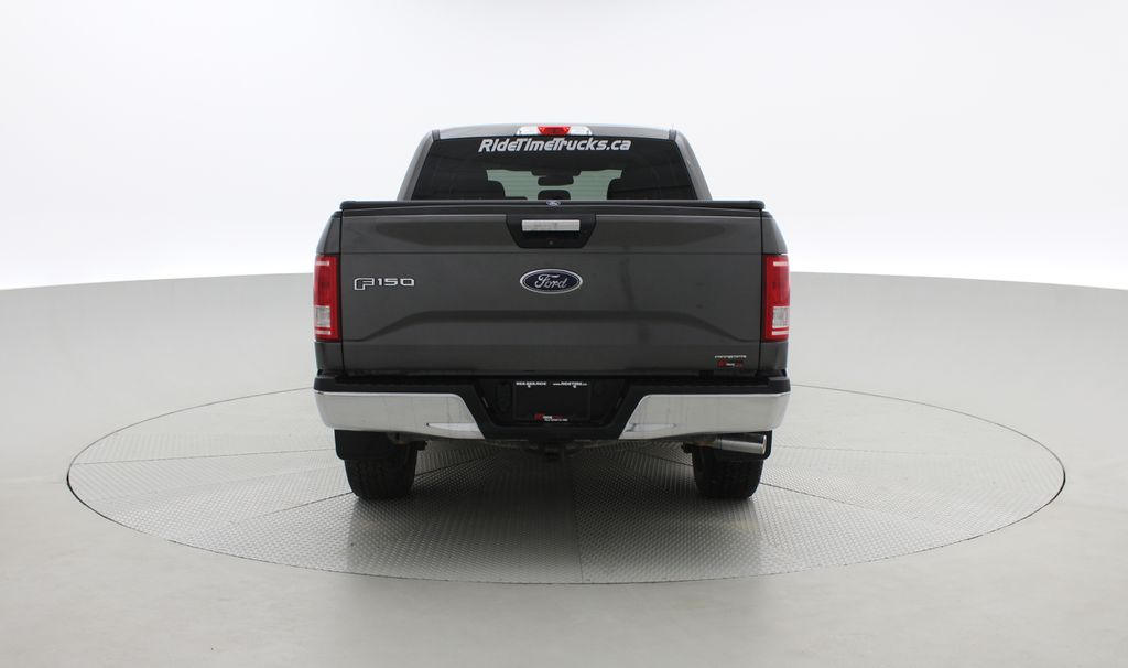 Gray[Magnetic] 2016 Ford F-150 XLT XTR 4WD - SuperCrew, V6, Running Boards Rear of Vehicle Photo in Winnipeg MB
