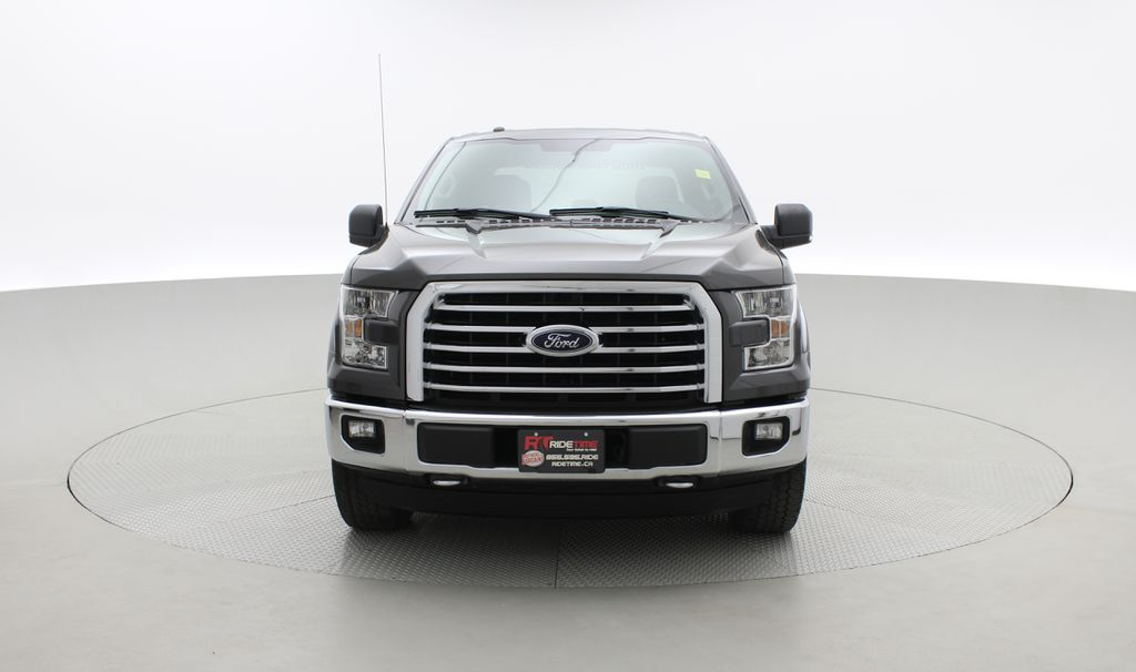 Gray[Magnetic] 2016 Ford F-150 XLT XTR 4WD - SuperCrew, V6, Running Boards Front Vehicle Photo in Winnipeg MB