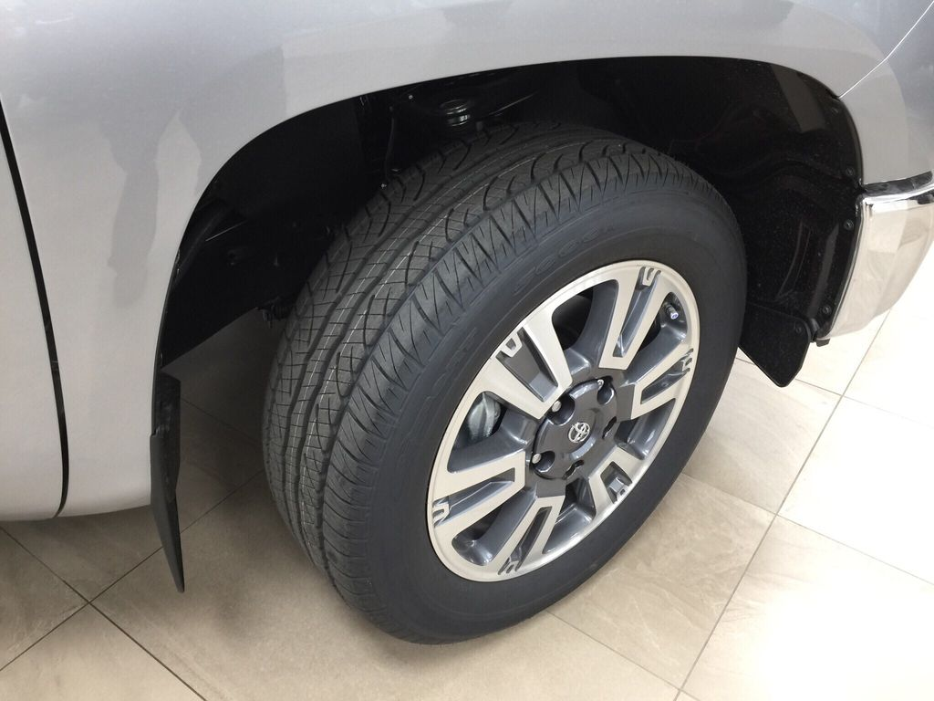 Silver[Silver Sky Metallic] 2021 Toyota Tundra 1794 Right Front Rim and Tire Photo in Sherwood Park AB