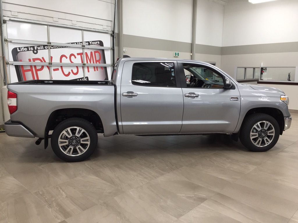 Silver[Silver Sky Metallic] 2021 Toyota Tundra 1794 Right Side Photo in Sherwood Park AB