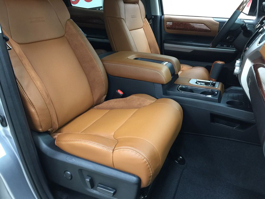 Silver[Silver Sky Metallic] 2021 Toyota Tundra 1794 Right Side Front Seat  Photo in Sherwood Park AB