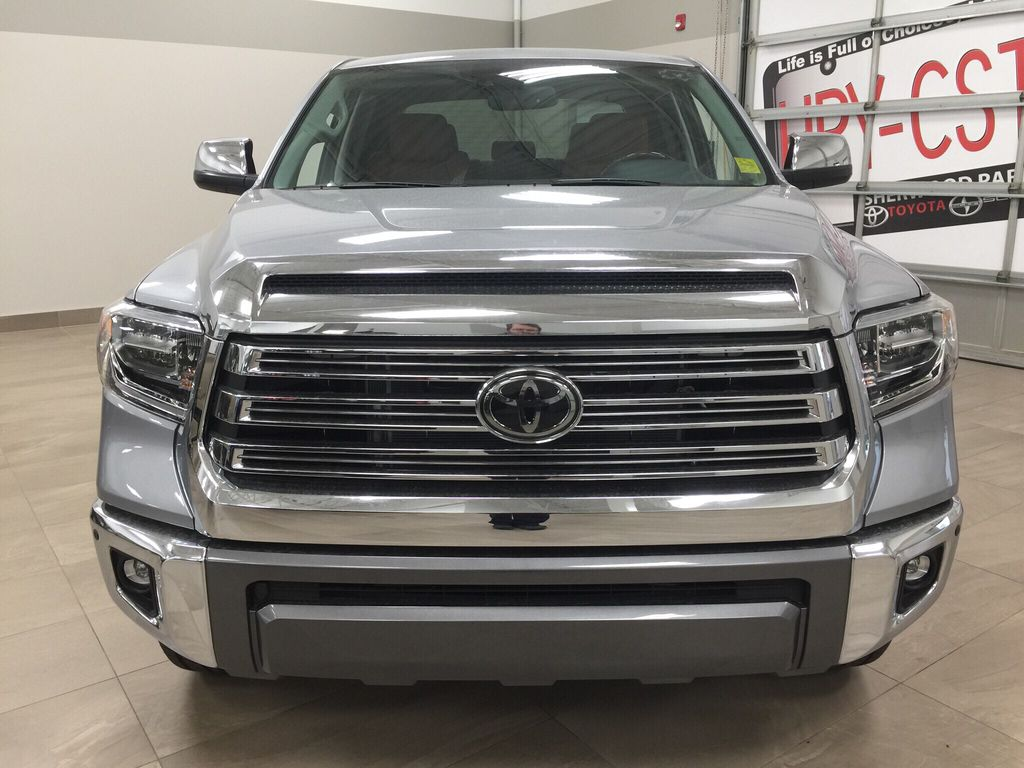 Silver[Silver Sky Metallic] 2021 Toyota Tundra 1794 Front Vehicle Photo in Sherwood Park AB