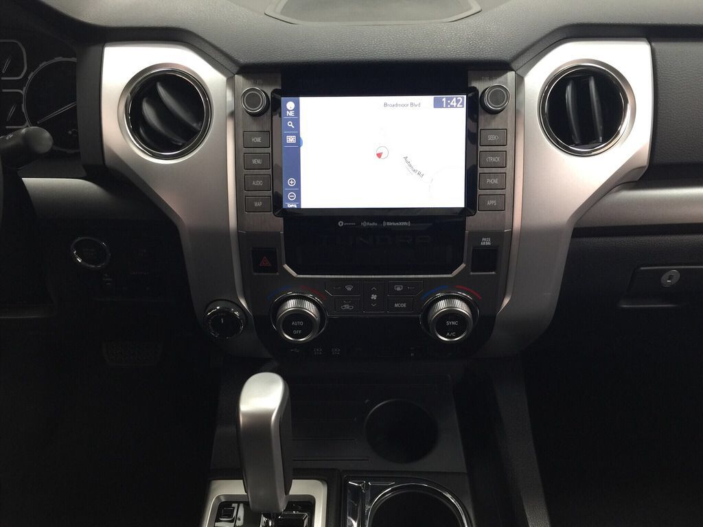 Gray[Cement Grey Metallic] 2021 Toyota Tundra TRD Off-Road Premium Central Dash Options Photo in Sherwood Park AB