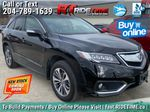 Black[Crystal Black Pearl] 2017 Acura RDX Elite AWD - Local MB Vehicle, Clean One Owner CarFax Primary Listing Photo in Winnipeg MB