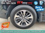 Black[Crystal Black Pearl] 2017 Acura RDX Elite AWD - Local MB Vehicle, Clean One Owner CarFax Left Front Rim and Tire Photo in Winnipeg MB