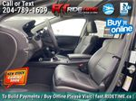Black[Crystal Black Pearl] 2017 Acura RDX Elite AWD - Local MB Vehicle, Clean One Owner CarFax Left Front Interior Photo in Winnipeg MB