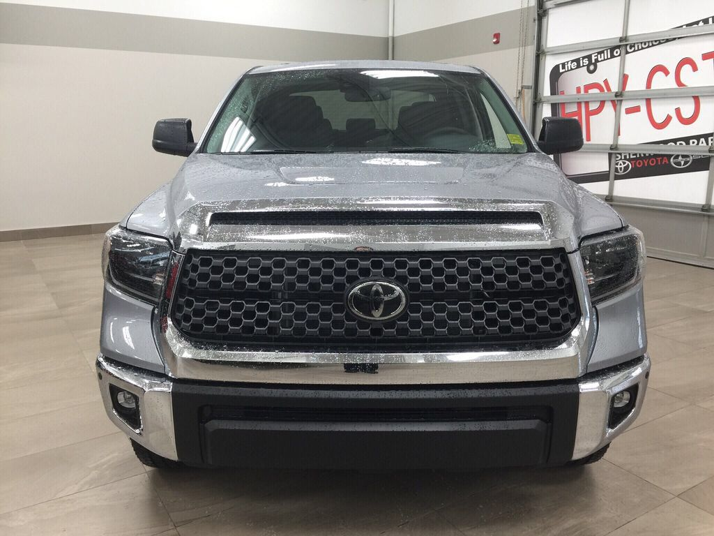 Silver[Silver Sky Metallic] 2021 Toyota Tundra TRD Off-Road Premium Front Vehicle Photo in Sherwood Park AB