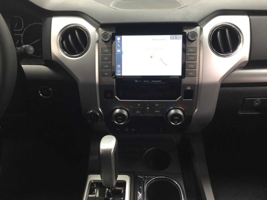 Silver[Silver Sky Metallic] 2021 Toyota Tundra TRD Off-Road Premium Central Dash Options Photo in Sherwood Park AB