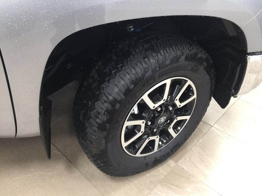 Silver[Silver Sky Metallic] 2021 Toyota Tundra TRD Off-Road Premium Right Front Rim and Tire Photo in Sherwood Park AB