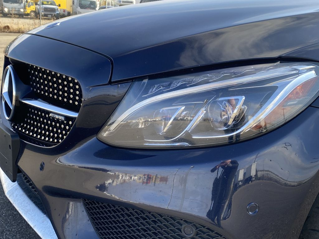 2017 Mercedes-Benz C-Class Left Front Head Light / Bumper and Grill in Edmonton AB