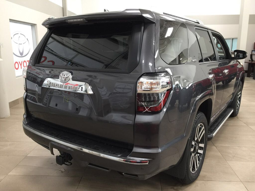 Gray[Magnetic Grey Metallic] 2021 Toyota 4Runner Limited Right Rear Corner Photo in Sherwood Park AB