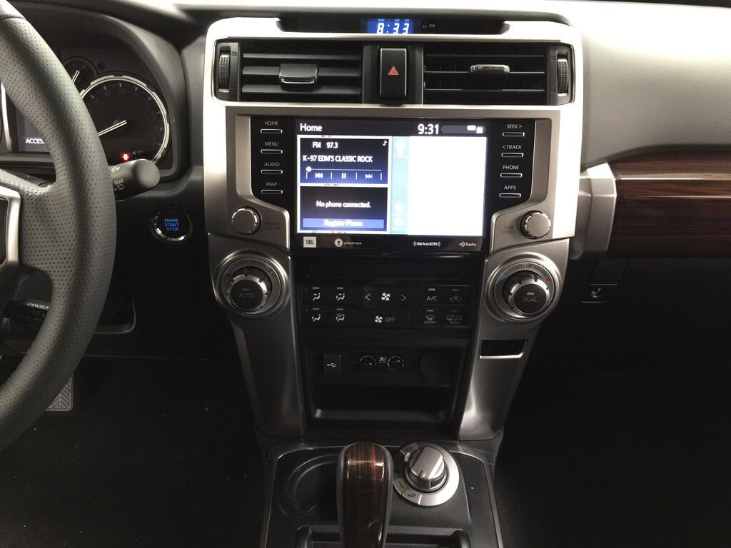Gray[Magnetic Grey Metallic] 2021 Toyota 4Runner Limited Central Dash Options Photo in Sherwood Park AB