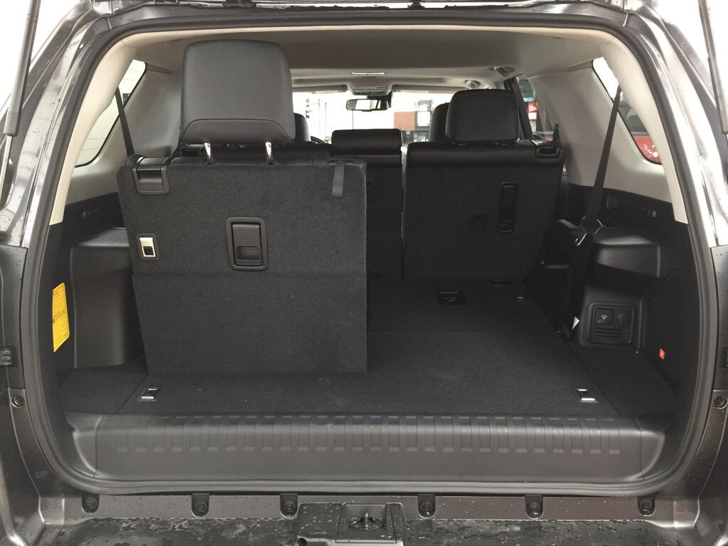 Gray[Magnetic Grey Metallic] 2021 Toyota 4Runner Limited Cargo Area/Rear Seats Photo in Sherwood Park AB