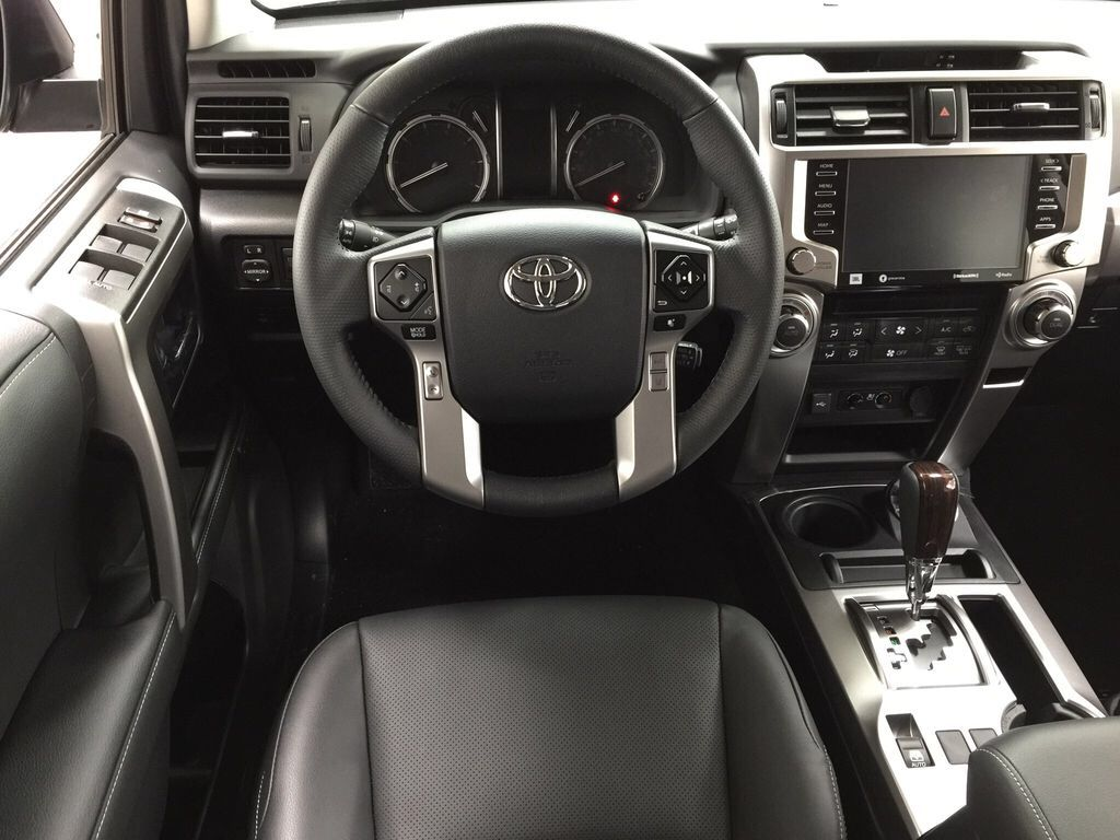 Gray[Magnetic Grey Metallic] 2021 Toyota 4Runner Limited Left Front Seat Photo in Sherwood Park AB