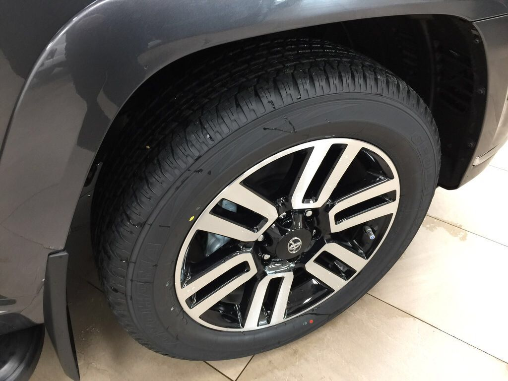 Gray[Magnetic Grey Metallic] 2021 Toyota 4Runner Limited Right Front Rim and Tire Photo in Sherwood Park AB