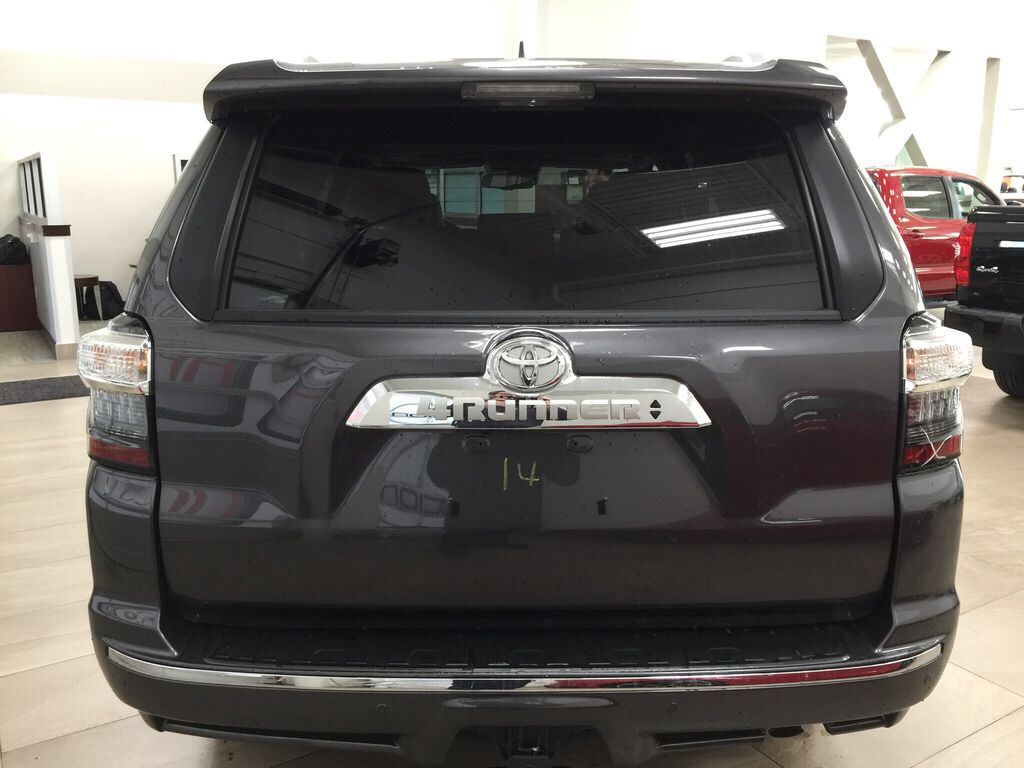 Gray[Magnetic Grey Metallic] 2021 Toyota 4Runner Limited Rear of Vehicle Photo in Sherwood Park AB