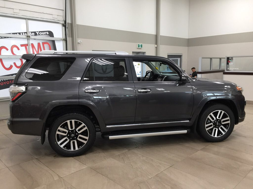 Gray[Magnetic Grey Metallic] 2021 Toyota 4Runner Limited Right Side Photo in Sherwood Park AB