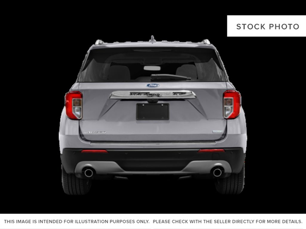 Black[Agate Black Metallic] 2020 Ford Explorer Rear of Vehicle Photo in Dartmouth NS