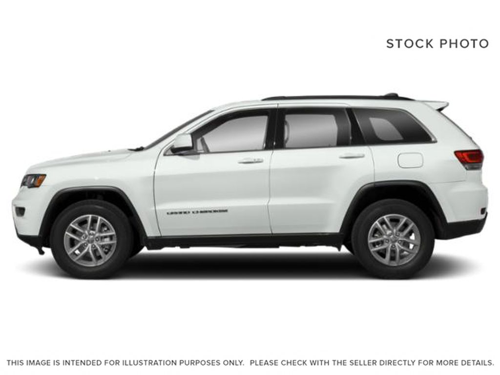 White[Bright White] 2019 Jeep Grand Cherokee Left Side Photo in Cold Lake AB