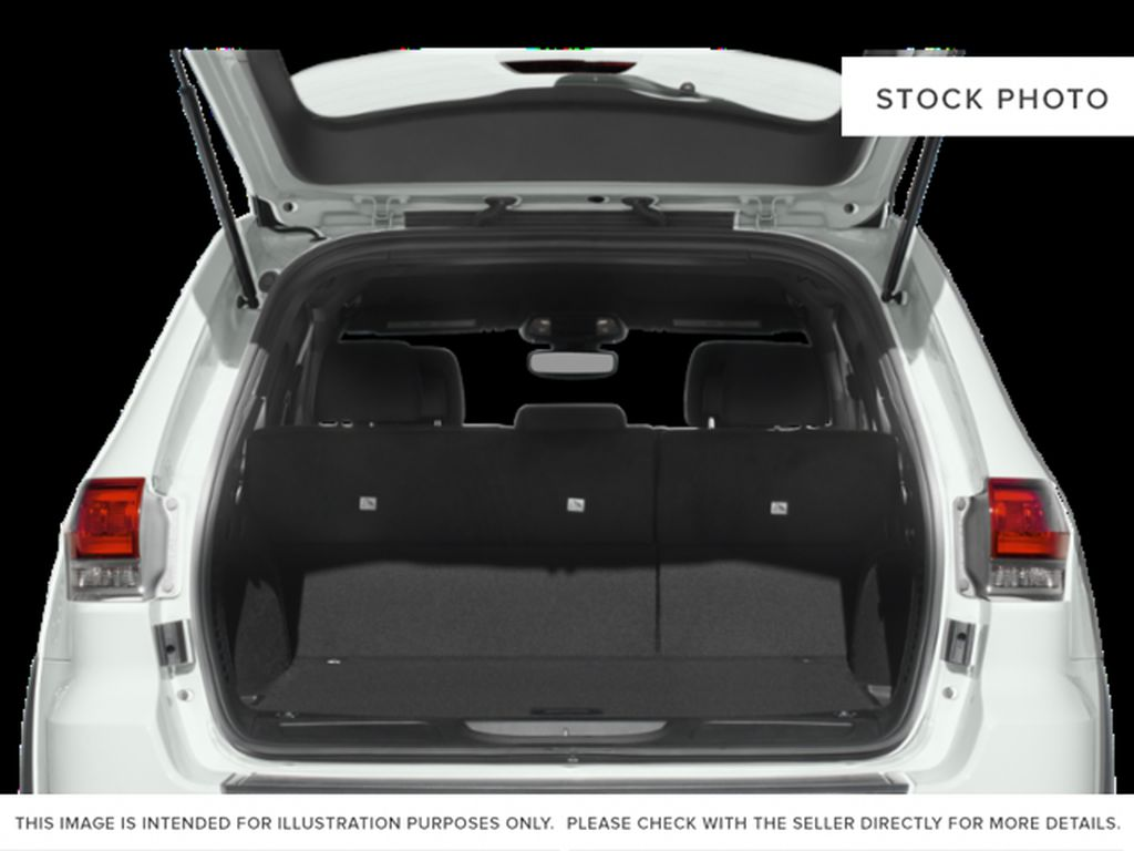 White[Bright White] 2019 Jeep Grand Cherokee Trunk / Cargo Area Photo in Cold Lake AB