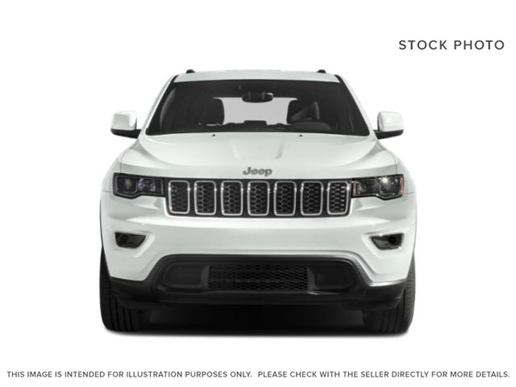 White[Bright White] 2019 Jeep Grand Cherokee Front Vehicle Photo in Cold Lake AB