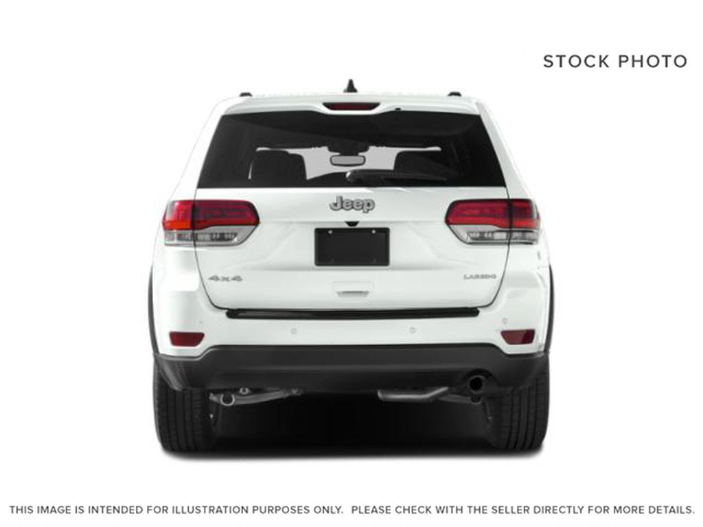 White[Bright White] 2019 Jeep Grand Cherokee Rear of Vehicle Photo in Cold Lake AB