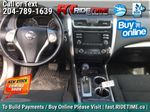 Brown[Java Metallic] 2014 Nissan Altima SV - Sunroof, Automatic, Alloy Wheels, LOW KMs Central Dash Options Photo in Winnipeg MB