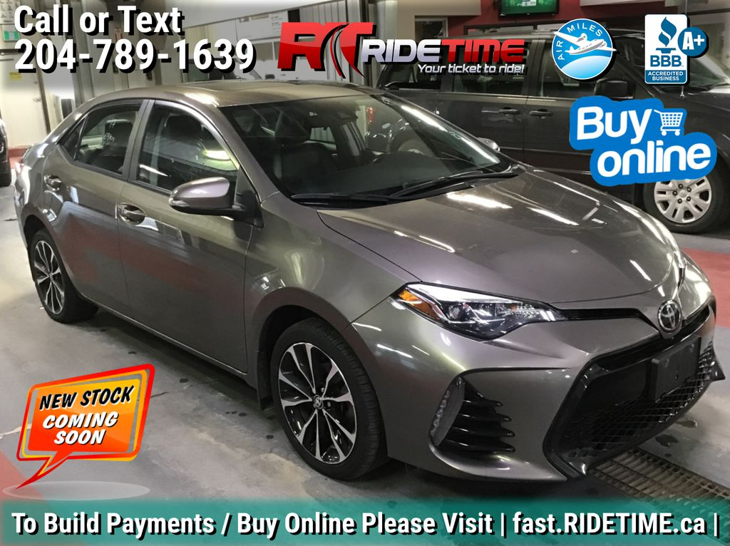 Gray[Falcon Gray Metallic] 2017 Toyota Corolla SE - Automatic, Backup Cam, Heated Seats, Sunroof