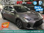 Gray[Falcon Gray Metallic] 2017 Toyota Corolla SE - Automatic, Backup Cam, Heated Seats, Sunroof Primary Listing Photo in Winnipeg MB