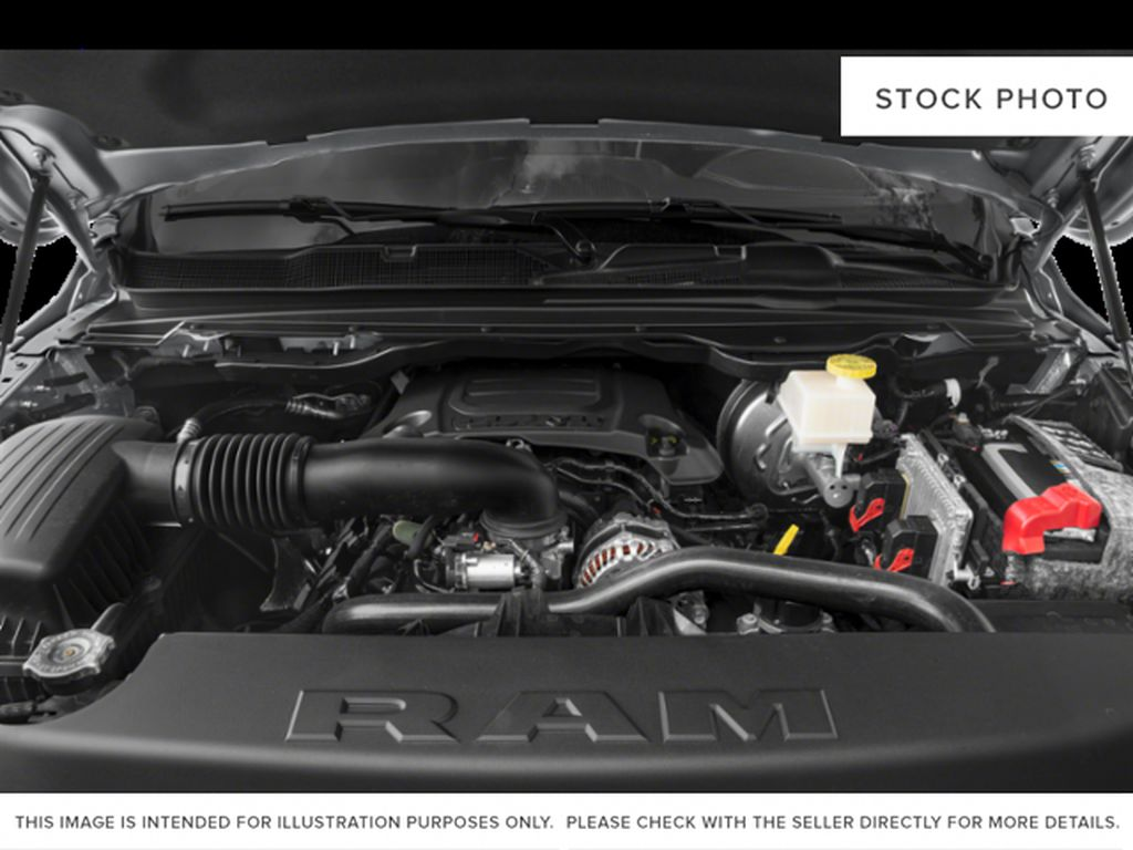 White[Bright White] 2021 Ram 1500 Engine Compartment Photo in Yarmouth NS