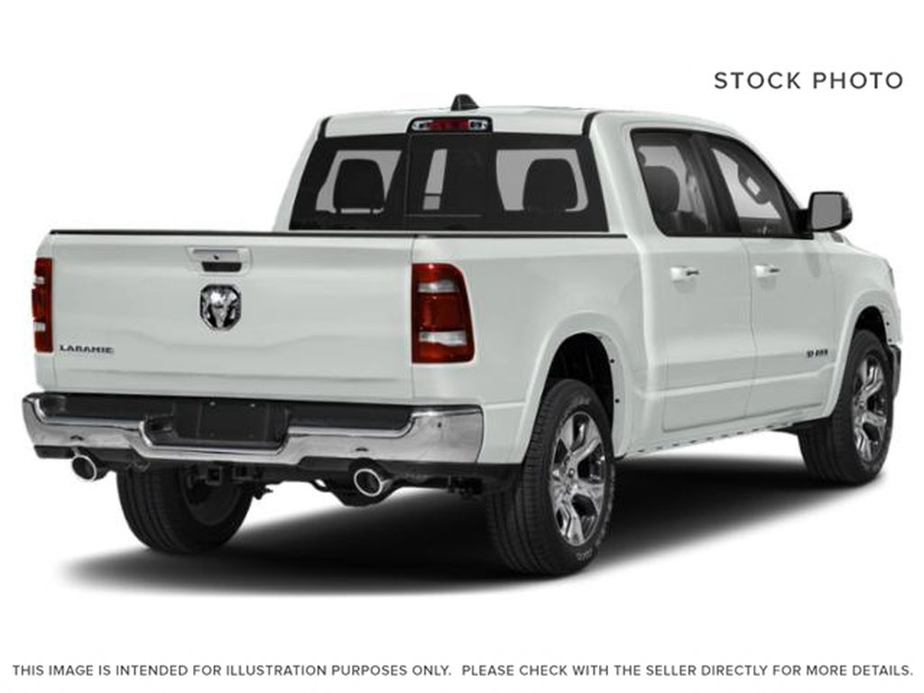 White[Bright White] 2021 Ram 1500 Right Rear Corner Photo in Yarmouth NS