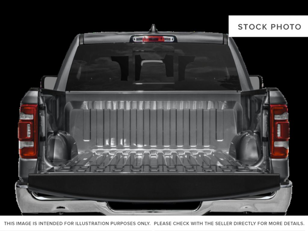 White[Bright White] 2021 Ram 1500 Trunk / Cargo Area Photo in Yarmouth NS