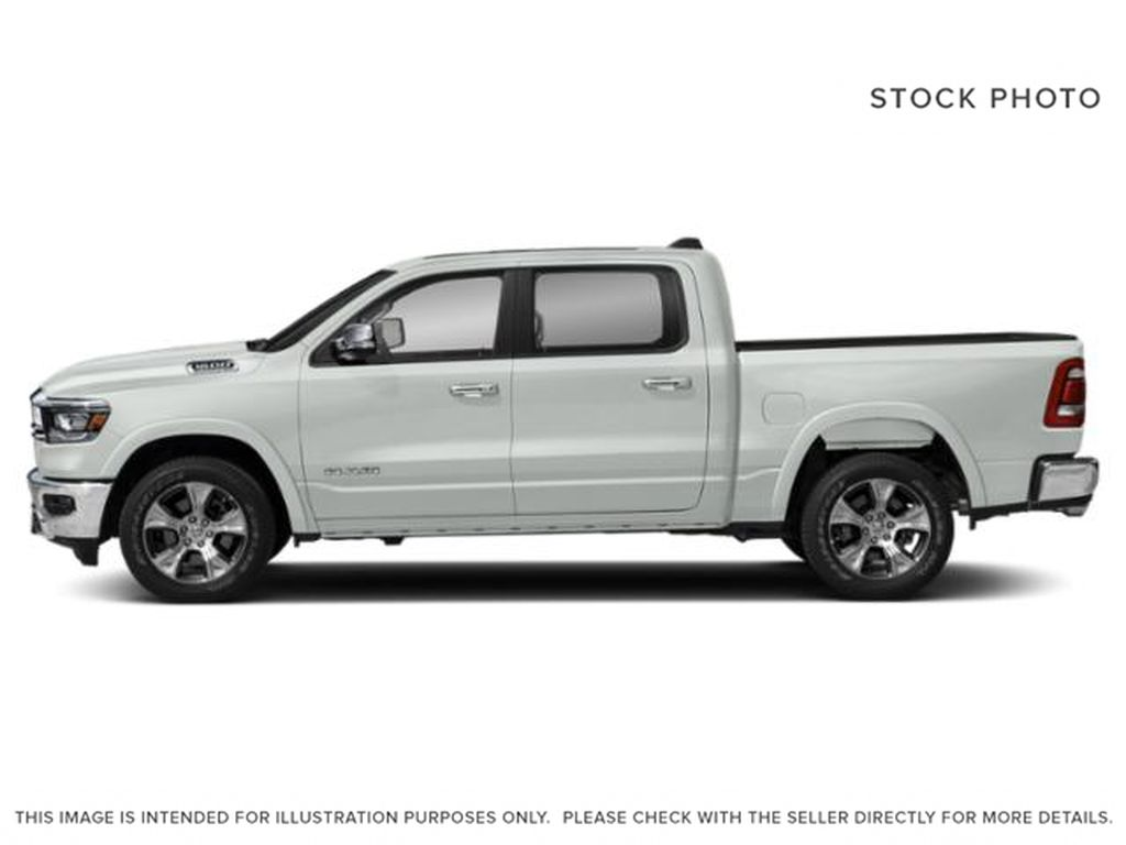 White[Bright White] 2021 Ram 1500 Left Side Photo in Yarmouth NS