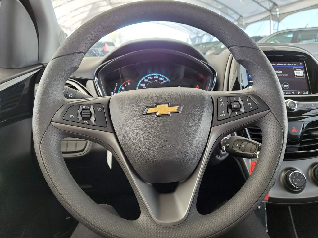 Black 2021 Chevrolet Spark Front Vehicle Photo in Airdrie AB