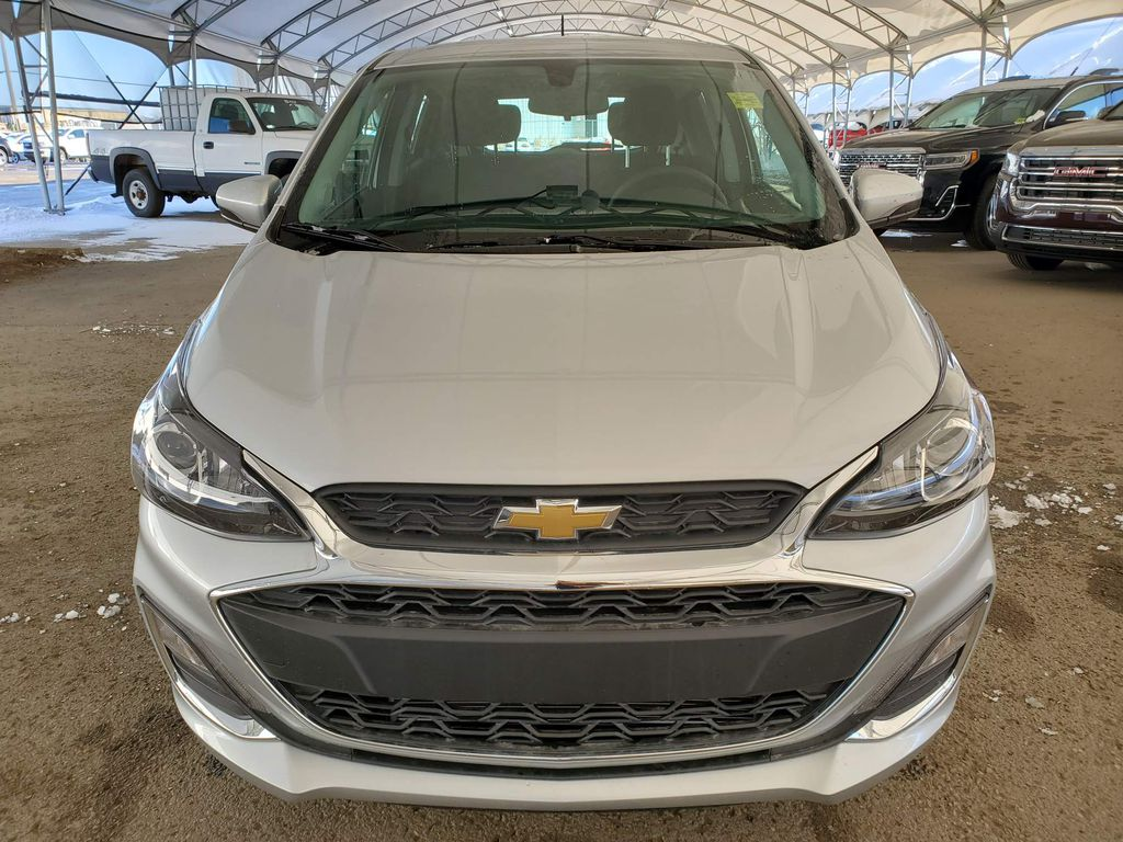Silver 2021 Chevrolet Spark Left Front Corner Photo in Airdrie AB