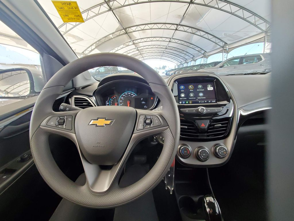 Silver 2021 Chevrolet Spark Front Vehicle Photo in Airdrie AB