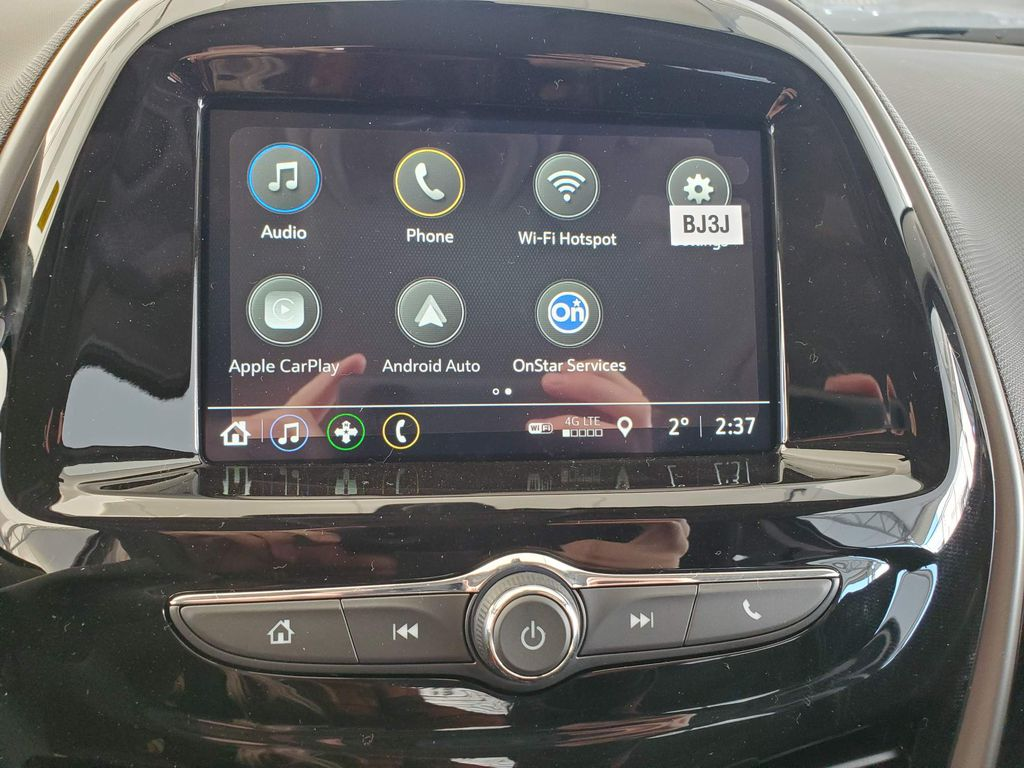 Silver 2021 Chevrolet Spark Left Side Photo in Airdrie AB