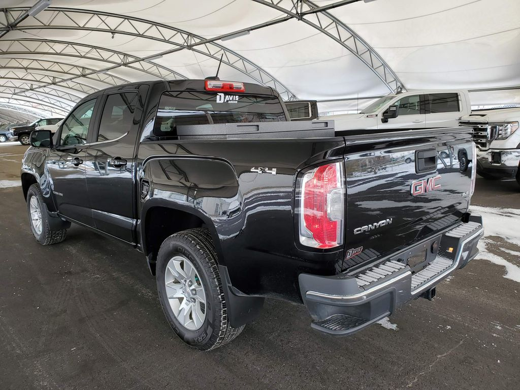 Black 2017 GMC Canyon Backup Camera Closeup Photo in Airdrie AB