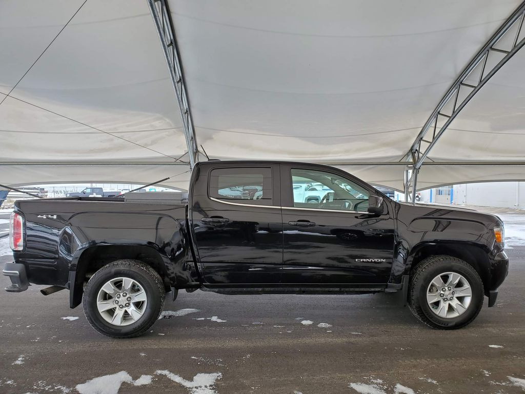 Black 2017 GMC Canyon Trunk / Cargo Area Photo in Airdrie AB