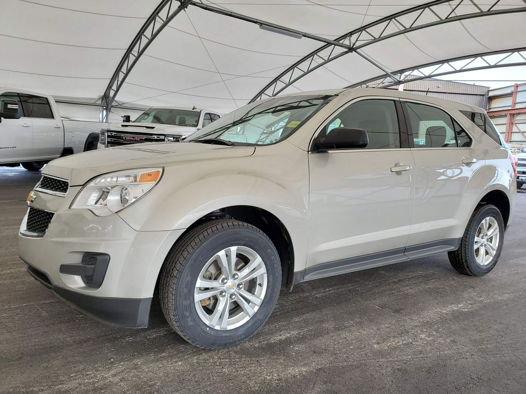 Silver 2015 Chevrolet Equinox Trim Specific Photo in Airdrie AB