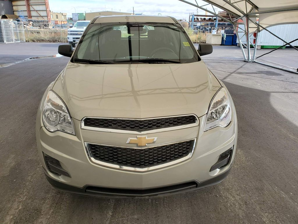 Silver 2015 Chevrolet Equinox Left Front Corner Photo in Airdrie AB