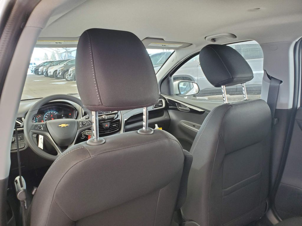 White 2021 Chevrolet Spark Central Dash Options Photo in Airdrie AB