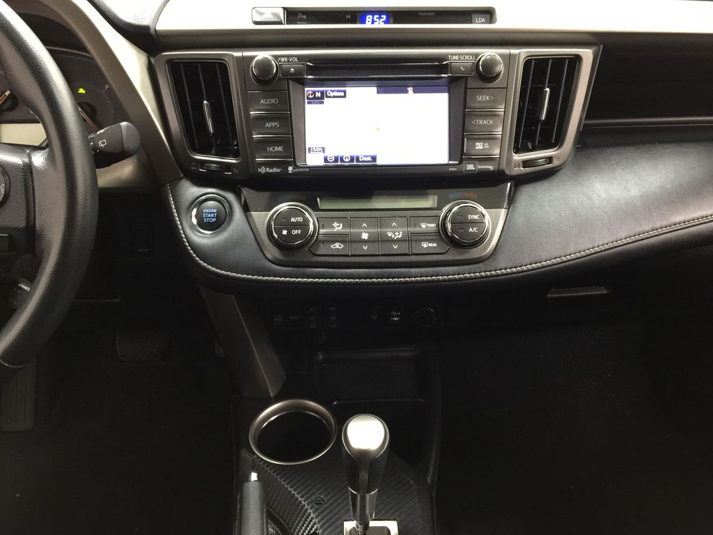 White[Blizzard Pearl] 2014 Toyota RAV4 Limited Central Dash Options Photo in Sherwood Park AB
