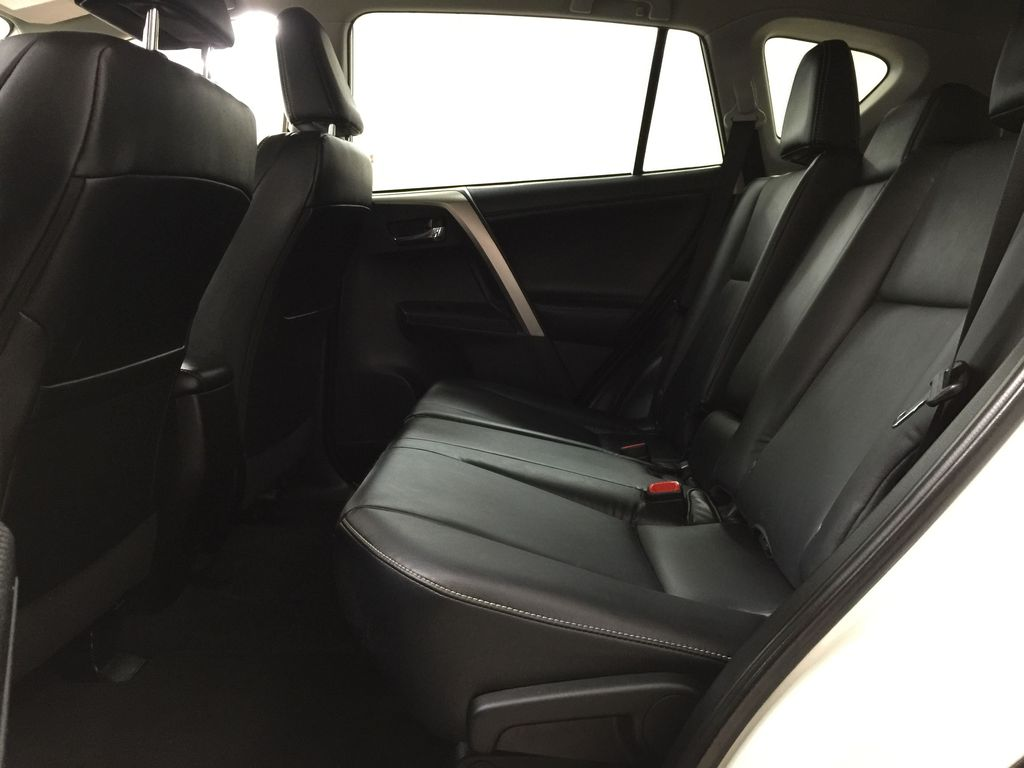 White[Blizzard Pearl] 2014 Toyota RAV4 Limited Left Side Rear Seat  Photo in Sherwood Park AB