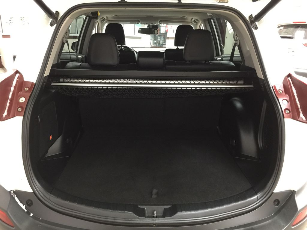 White[Blizzard Pearl] 2014 Toyota RAV4 Limited Cargo Area/Rear Seats Photo in Sherwood Park AB