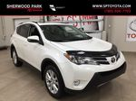 White[Blizzard Pearl] 2014 Toyota RAV4 Limited Primary Listing Photo in Sherwood Park AB